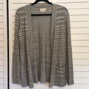 Lou & Grey Cotton Cardigan - Size S